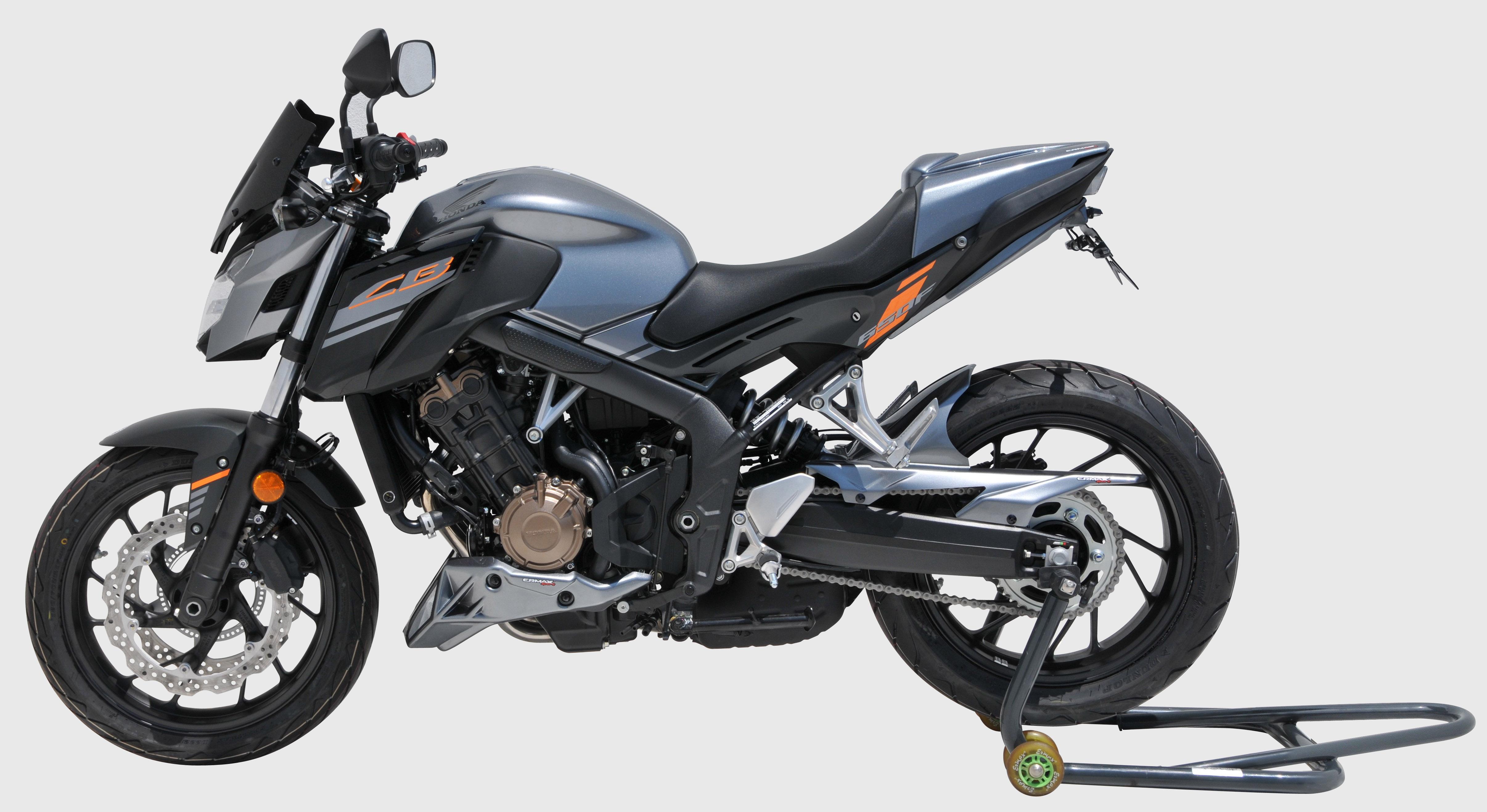 Ermax Sport Screen Windshield Windscreen for Honda NM4 Vultus Satin Black