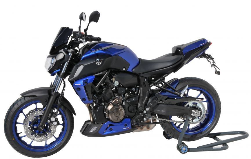 belly pan ermax for mt07(fz 7 ) 2018/2020